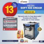 Jual Mesin Soft Ice Cream ISC-188 di Semarang