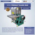 Jual Mesin Pemisah Tulang Ikan MKS-FISH200 di Semarang