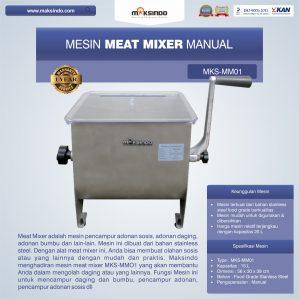 Jual Manual Meat Mixer MKS-MM01 di Semarang