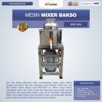 Jual Mesin Mixer Bakso MKS-MX4 di Semarang
