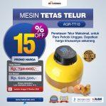 Jual Mesin Tetas Telur 10 Butir (AGR-TT-10) di Semarang