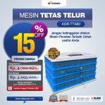 Jual Mesin Penetas Telur AGR-TT480 di Semarang