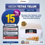 Jual Mesin Penetas Telur 56 Butir (AGR-TT56) di Semarang