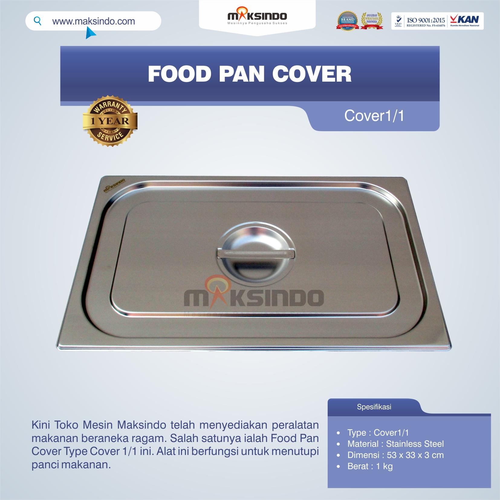 Jual Food Pan Cover Type Cover1/1 di Semarang