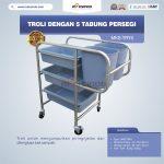 Jual Troli Dengan 5 Tabung Persegi MKS-TRY5 di Semarang