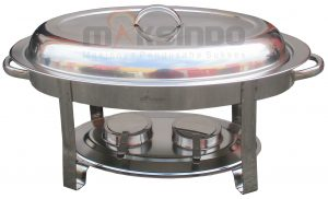 Jual Oval Chafing Dish 5 Liter di Semarang