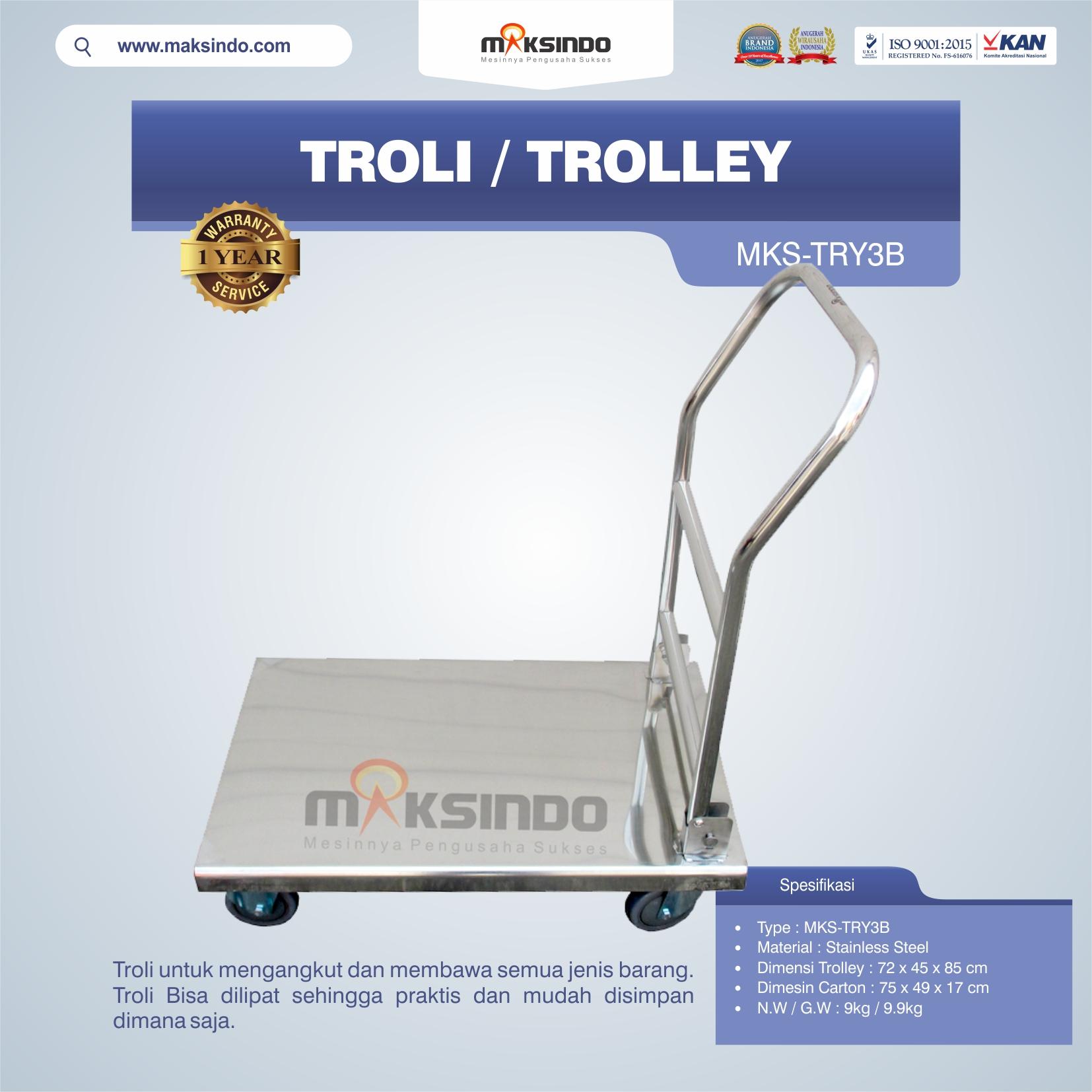 Jual Troli/Trolley MKS-TRY3B di Semarang