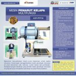 Jual Mesin Pemarut Kelapa Multifungsi AGR-PRT30 di Semarang