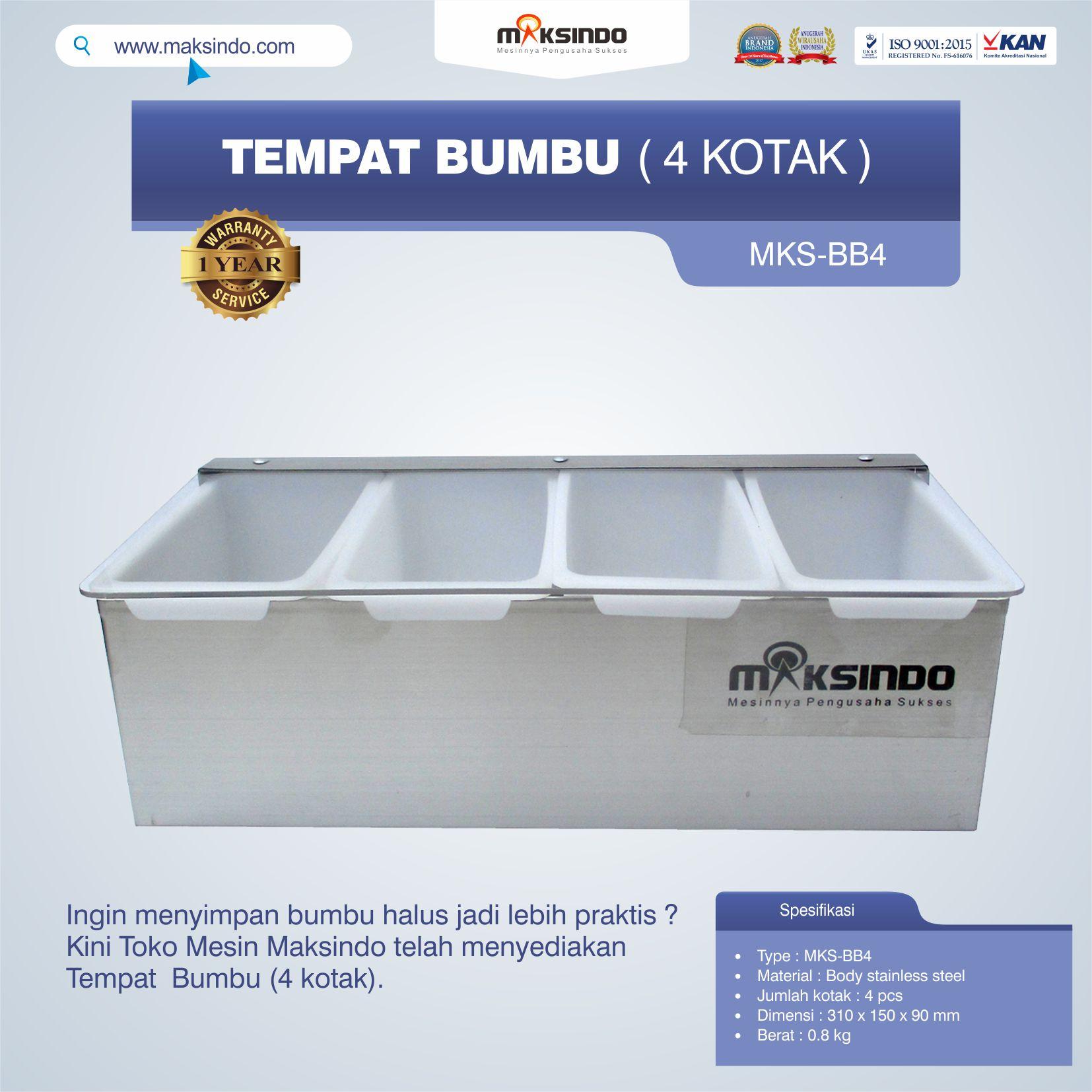 Jual Tempat Bumbu (4 kotak) di Semarang