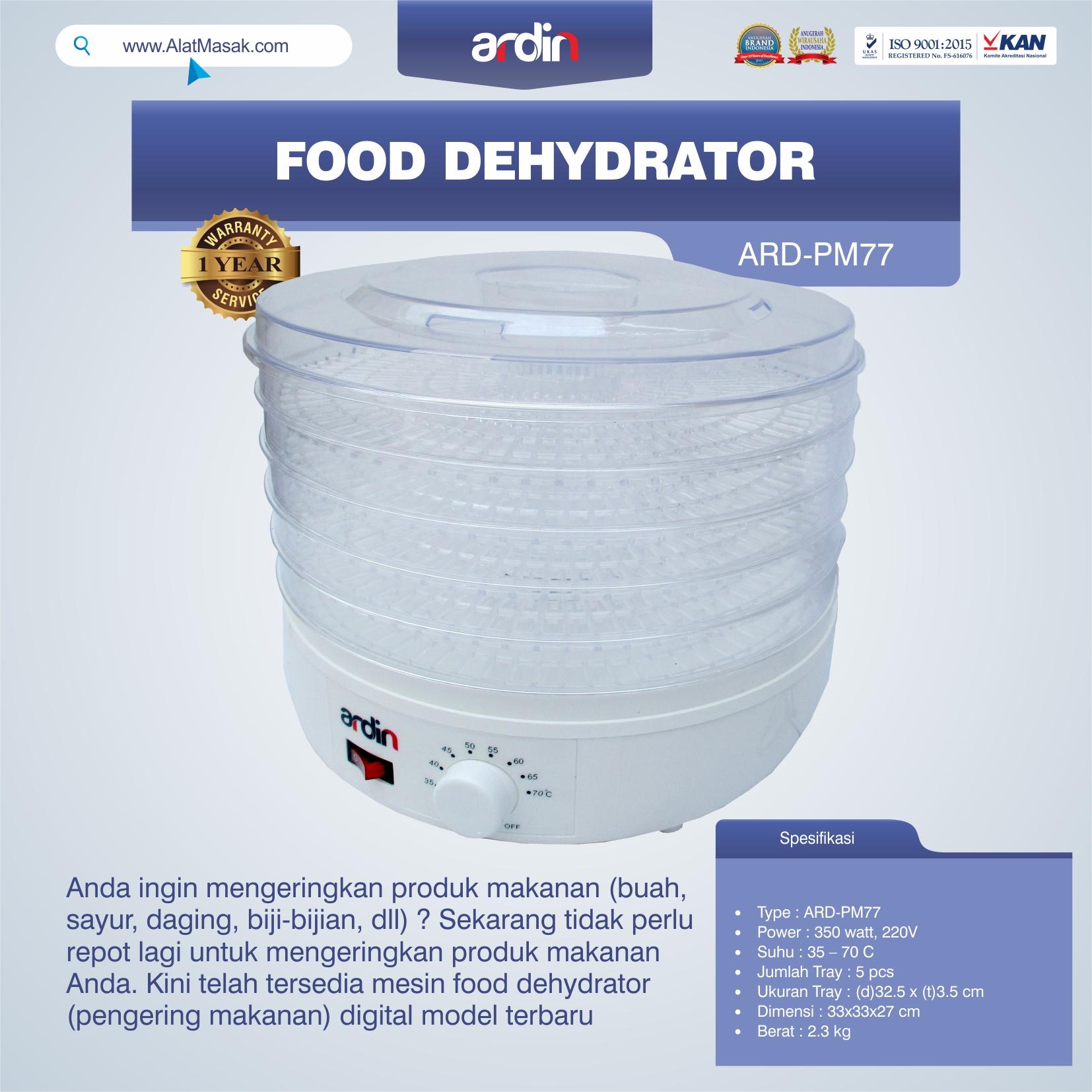 Jual Food Dehydrator ARD-PM77 di Semarang