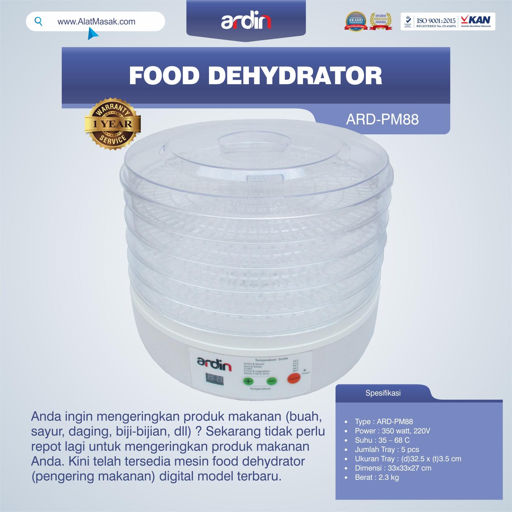 Jual Food Dehydrator ARD-PM88 di Semarang