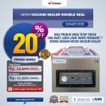 Jual Vacuum Sealer Double Seal DZ400T/2CB di Semarang