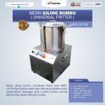 Jual Mesin Giling Bumbu (Universal Fritter) MKS-UV15A di Semarang
