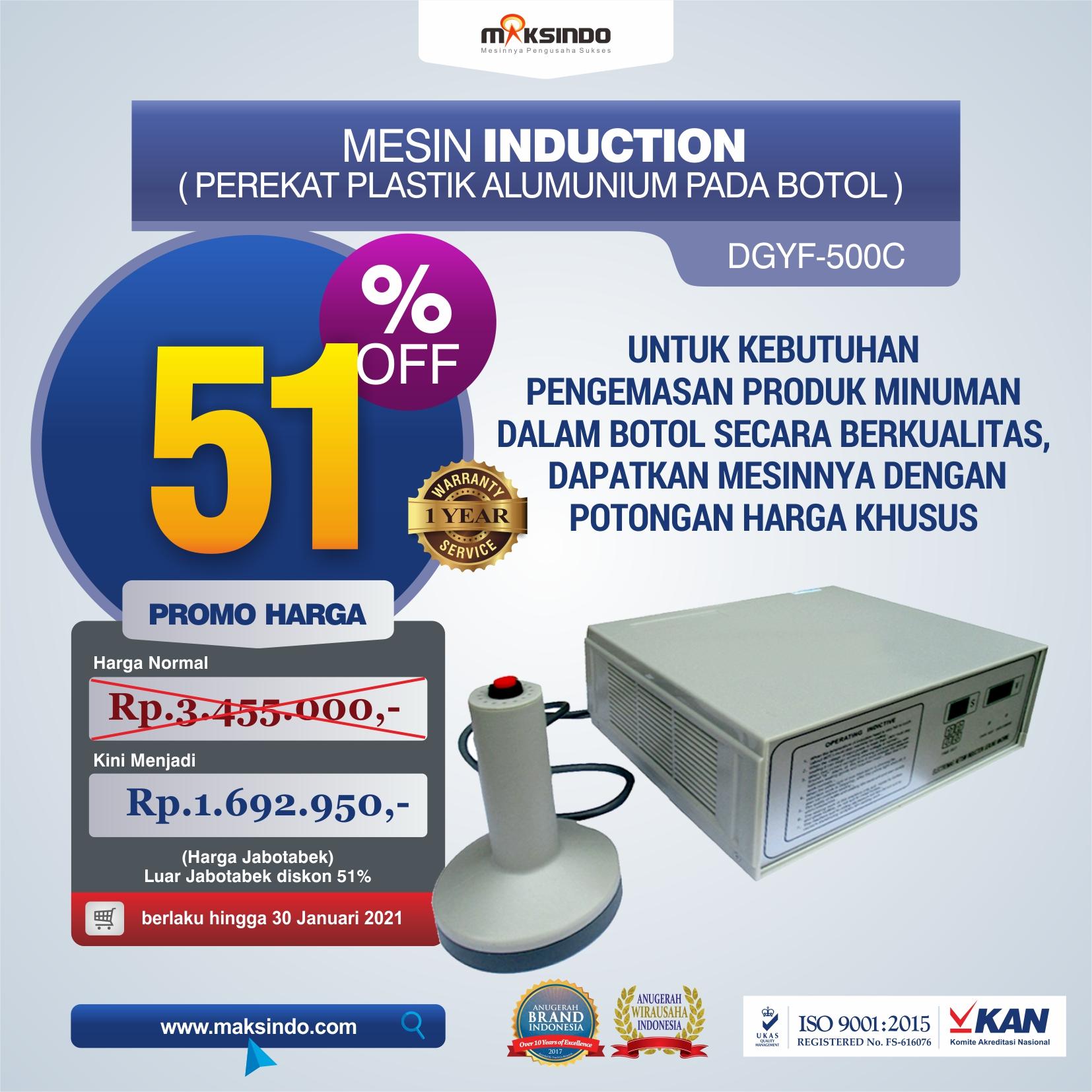 Jual Mesin Induction Sealer di Semarang