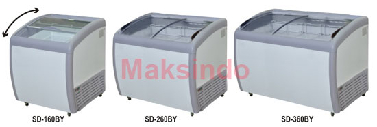 Jual Mesin Sliding Curve Glass Freezer di Semarang