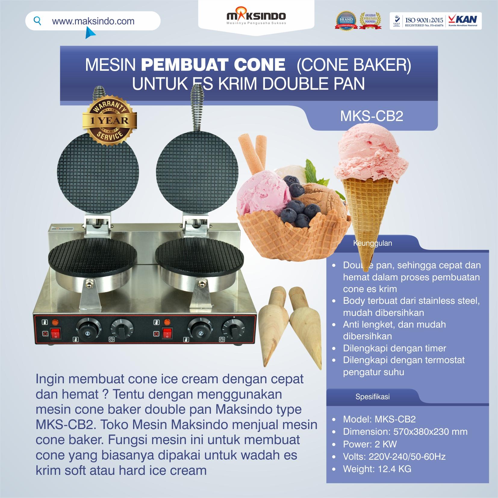 Jual Pembuat Cone Ice Cream (CB2) di Semarang