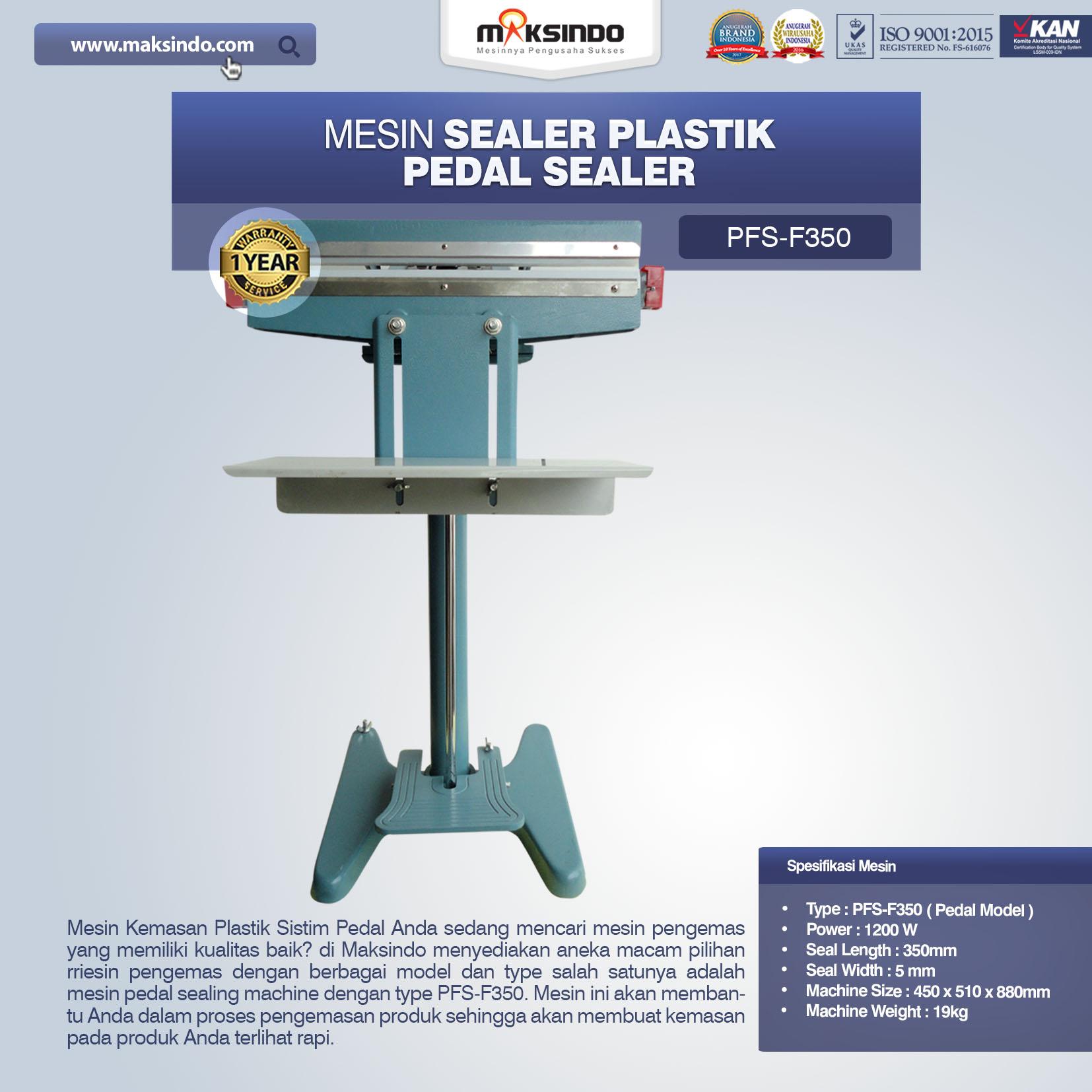 Jual Pedal Sealing Machine (PFS-F350) di Semarang