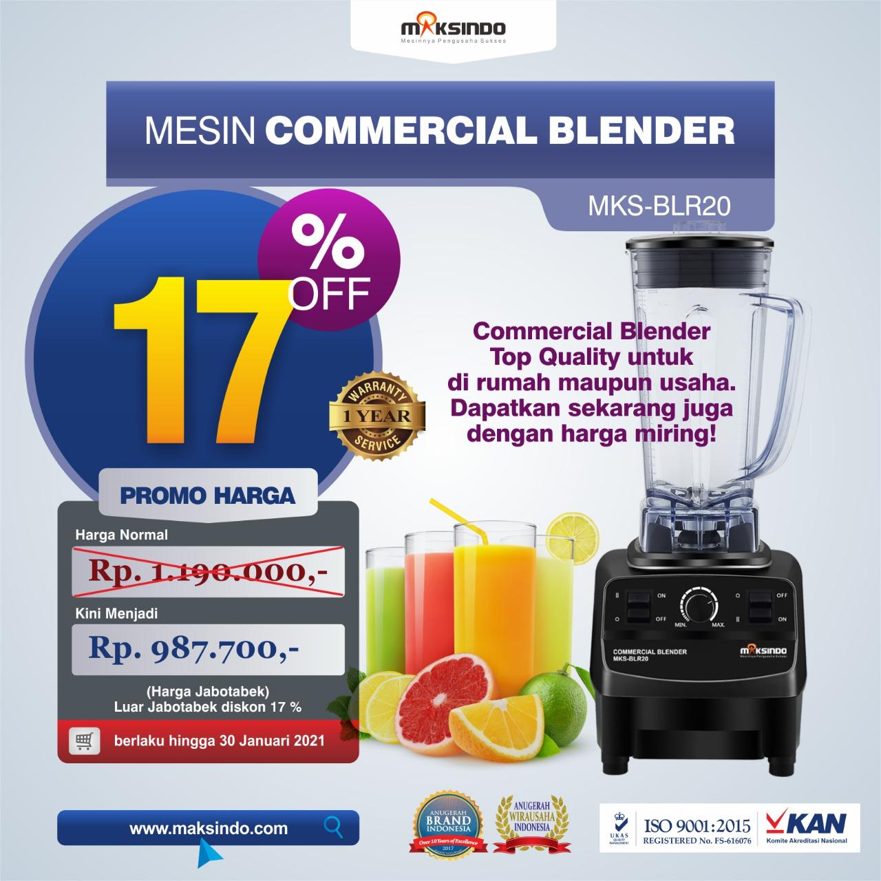 Jual Commercial BlenderMKS-BLR20 di Semarang