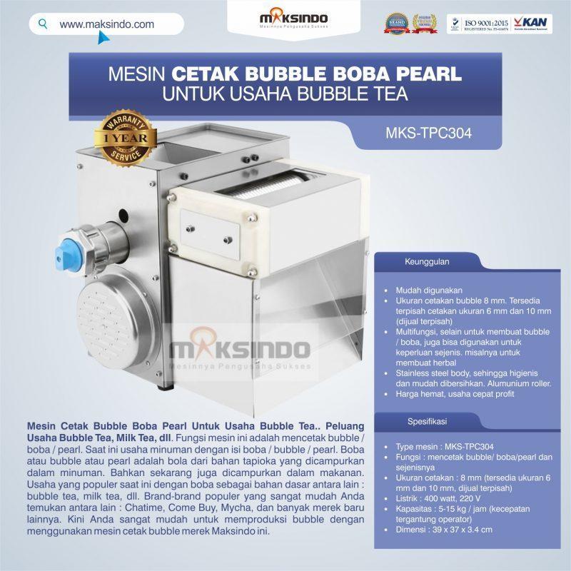Jual Mesin Cetak Bubble Boba Pearl Untuk Usaha Bubble Tea di Semarang