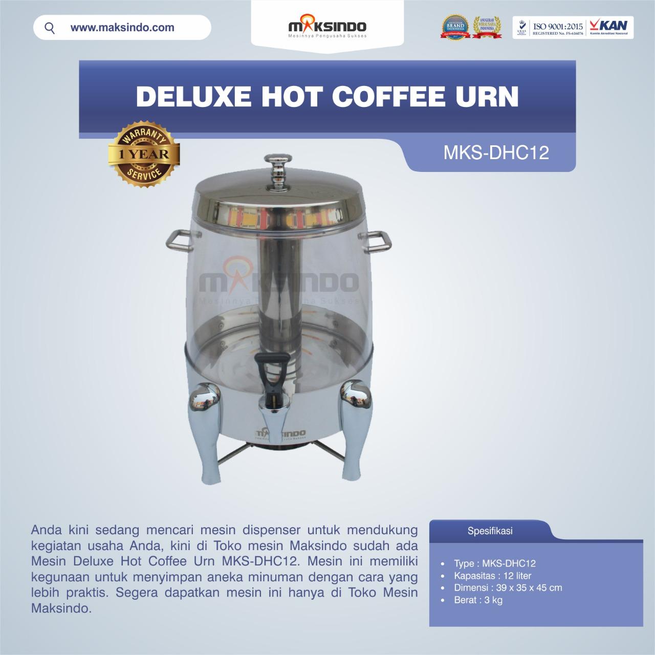 Jual Deluxe Hot Coffee Urn MKS-DHC12 di Semarang