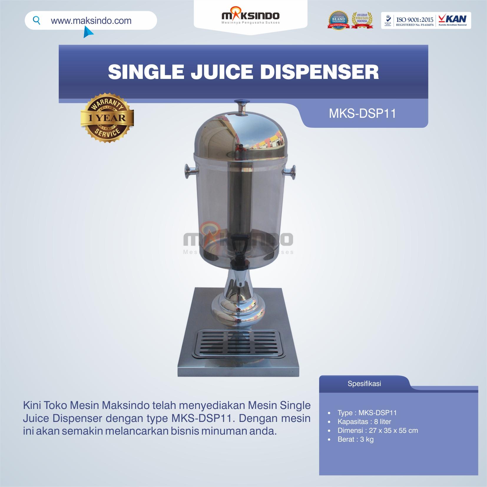 Jual Single Juice Dispenser MKS-DSP11 di Semarang