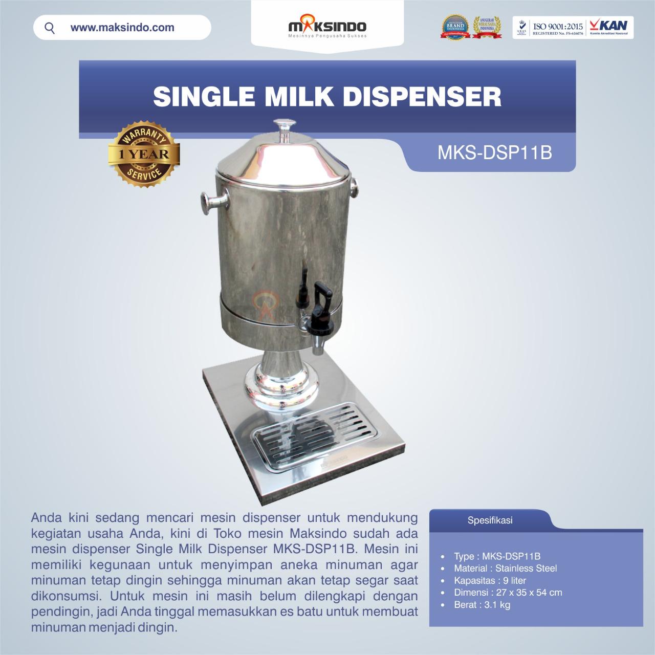 Jual Single Milk Dispenser MKS-DSP11B di Semarang