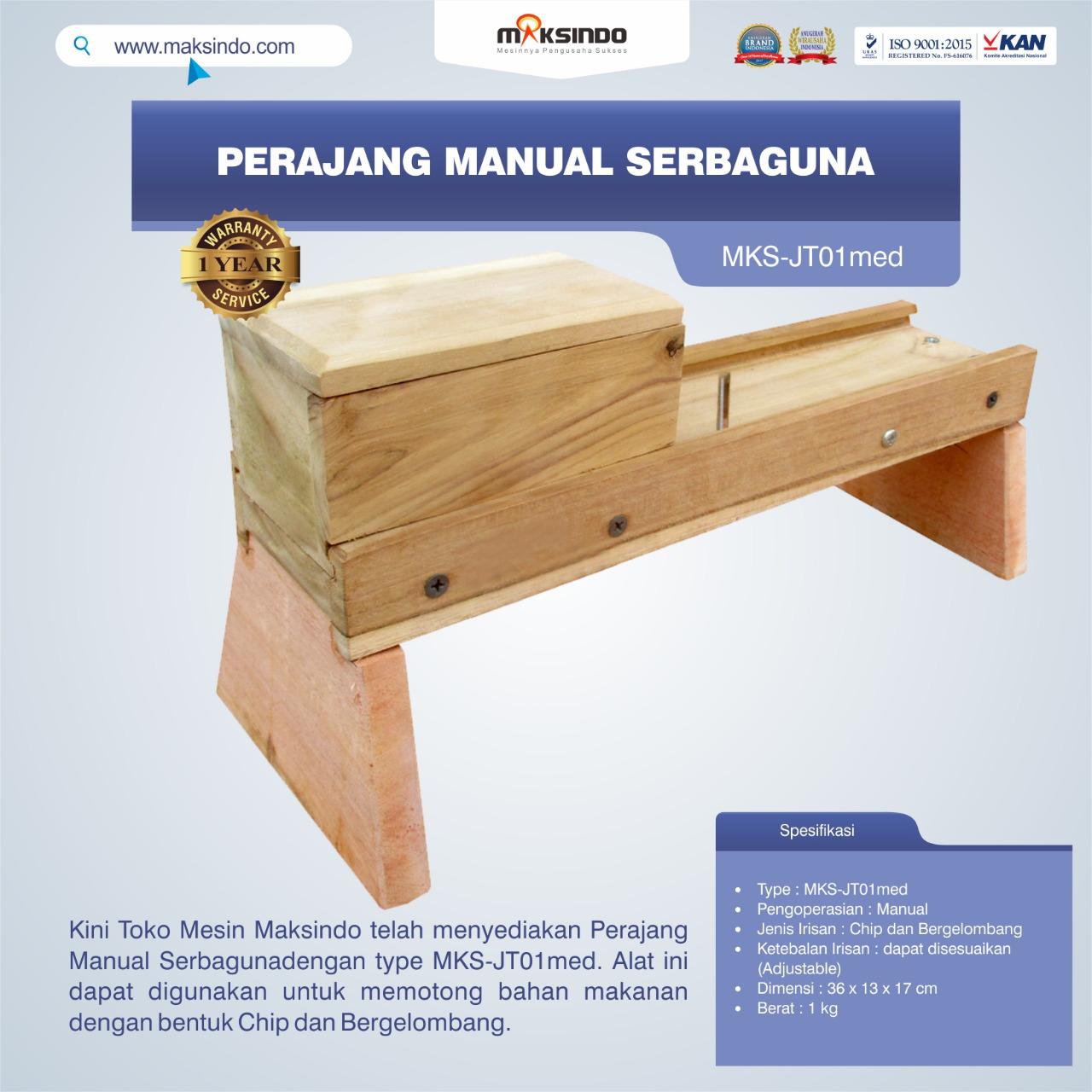 Jual Perajang Manual Serbaguna MKS-JT01med di Semarang