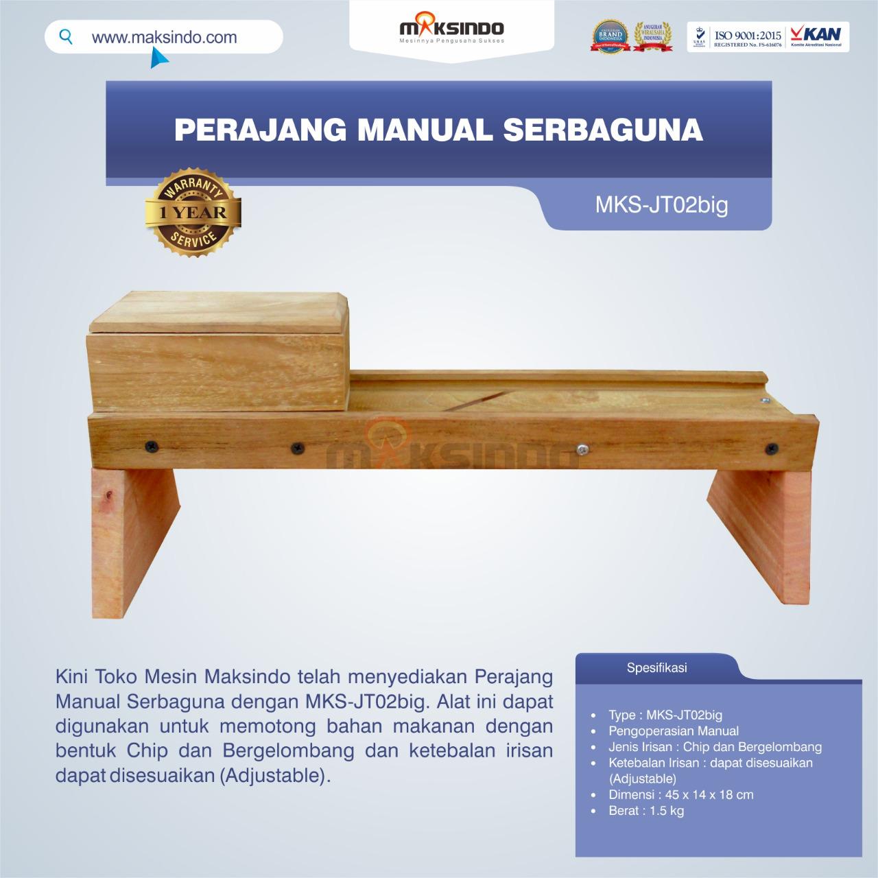 Jual Perajang Manual Serbaguna MKS-JT02big di Semarang