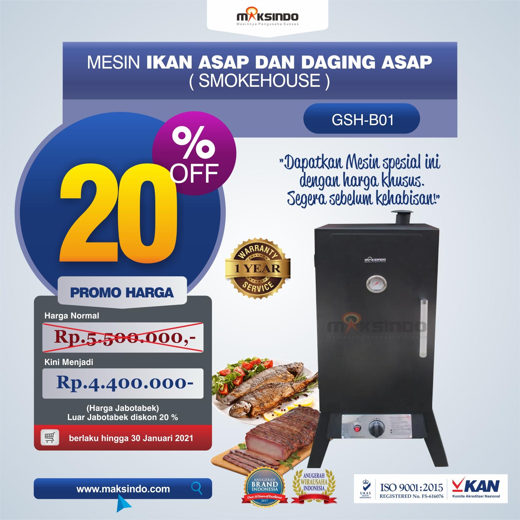 Jual Mesin Smokehouse di Semarang